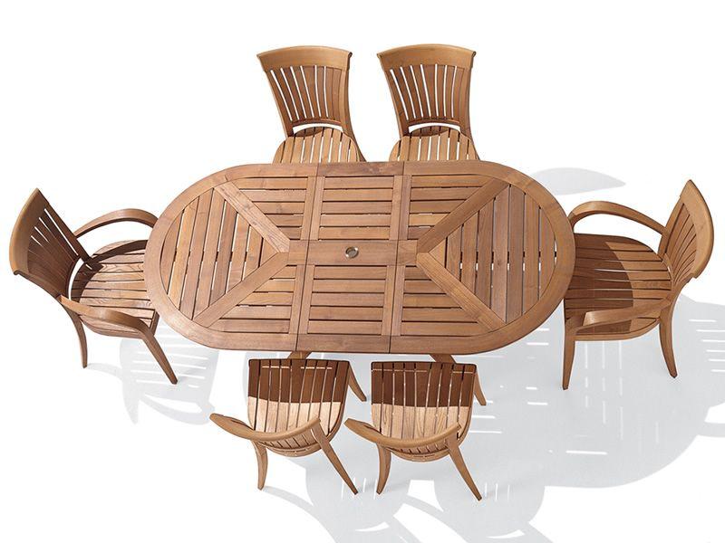 Harmony b sill n para jard n de madera robinia sediarreda for Sillones de madera para jardin