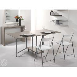 Archimede set set consolle con tavolo pieghevole 170 x - Tavolo a ribalta calligaris ...
