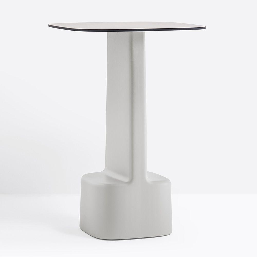 serif 861 f r bars und restaurants hoher tisch f r bars oder restaurants aus polyethylen mit. Black Bedroom Furniture Sets. Home Design Ideas