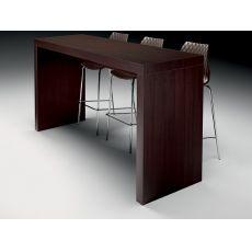 Deck - Tavolo alto in laminato, disponibile in diverse misure e colori