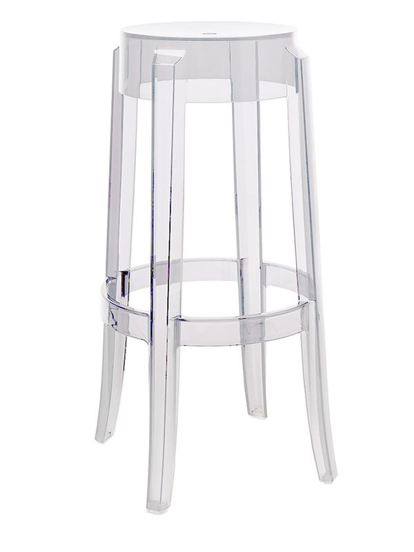 Charles ghost sgabello kartell di design in for Sedie di design in policarbonato