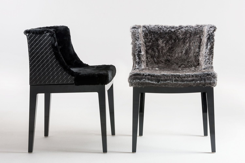 Mademoiselle kravitz edition designer sessel kartell for Kunstleder fur stuhle