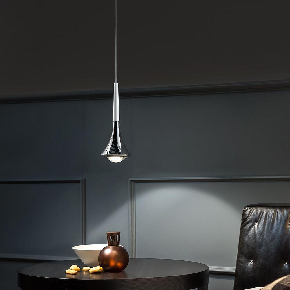 Rain suspension design en m tal led disponible en for Lampe design suspension