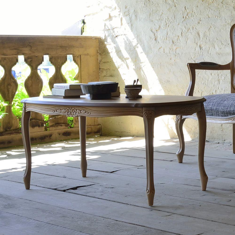 brianzolo t table basse en bois classique plateau ovale 108 cm sediarreda. Black Bedroom Furniture Sets. Home Design Ideas