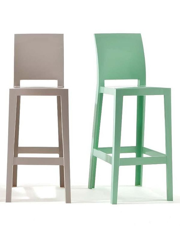 One more please sgabello kartell di design in for Sedie di design in policarbonato