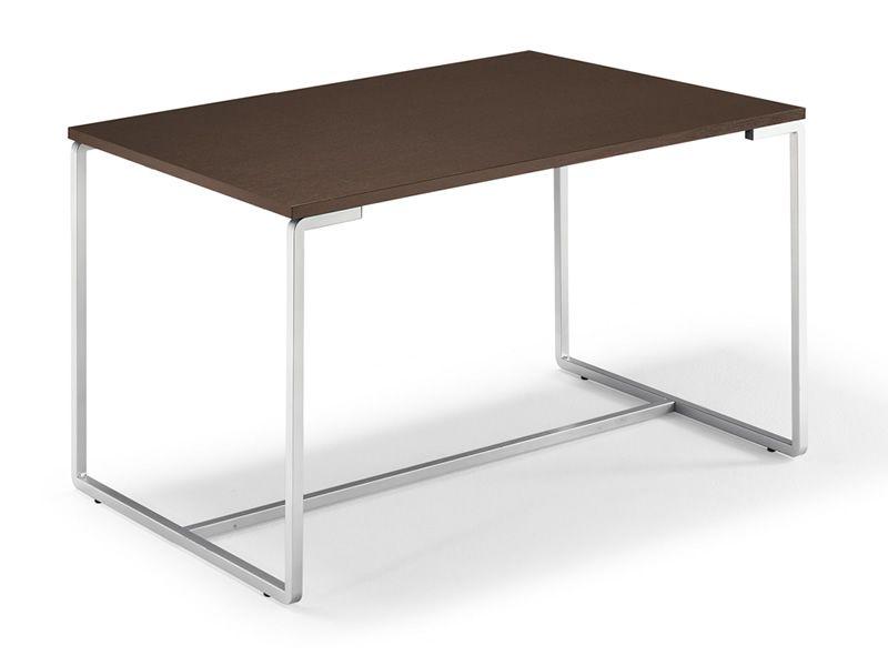 fast domitalia table metal structure and melamine top 130 x 85 cm extendable sediarreda. Black Bedroom Furniture Sets. Home Design Ideas