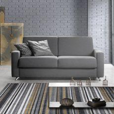 Giacinto - Divano a 3 posti o 3 posti XL, completamente sfoderabile, diversi rivestimenti e colori disponibili, anche divano letto