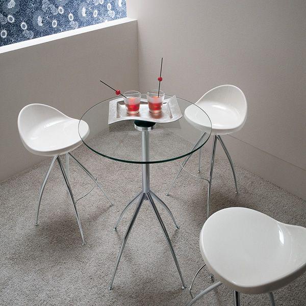 Md136 table haute avec tabourets - Table haute avec tabouret ...
