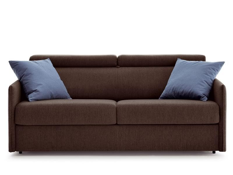 Tiffany divano letto moderno a 2 o 3 posti maxi con poggiatesta reclinabile sediarreda - Divano letto 3 posti ...