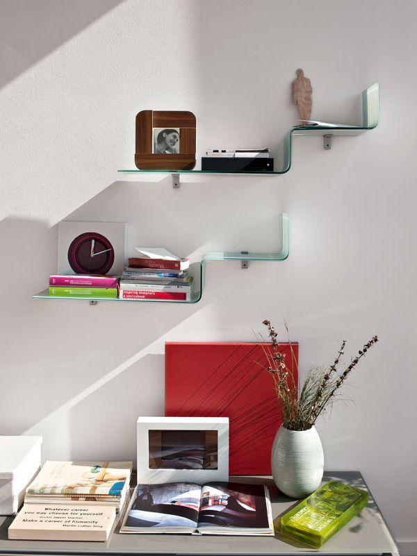 Mensole Per Salotto. Cool Lilliput Mensola In Legno Design Per ...