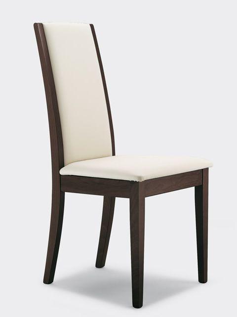 Sillas acolchadas comedor normando blanco sillas for Sillas para iglesia en madera