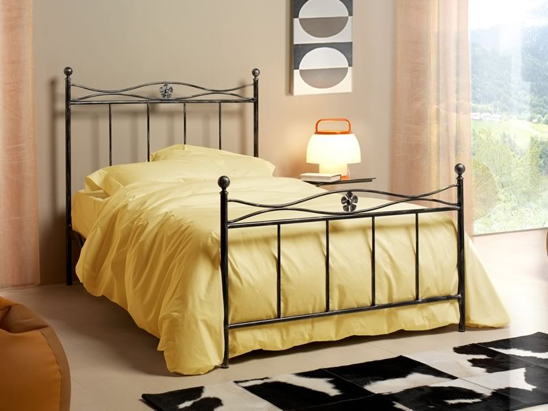 albatros 120 franz sisches bett aus eisen verschiedene. Black Bedroom Furniture Sets. Home Design Ideas