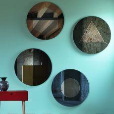 Tropicana - Miroir mural Miniforms, différents modèles disponibles