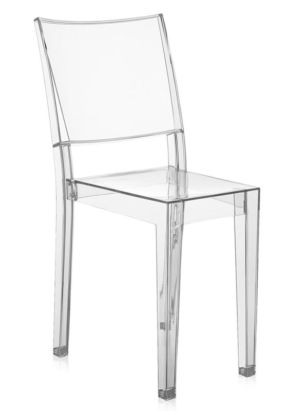 La marie chaise kartell design en polycarbonate transparent empilable aus - Chaise transparente kartell ...