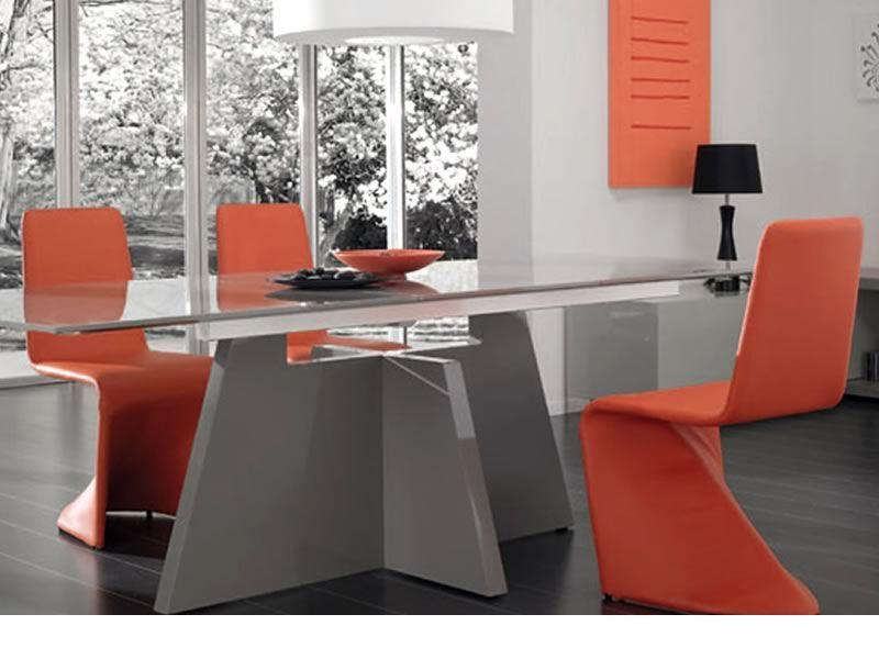 Kasper sedia design interamente rivestita in ecopelle diversi colori disponibili sediarreda - Sedie di design outlet ...