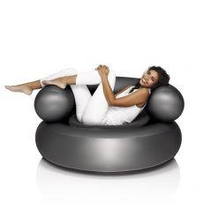 Ch-Air - Sillón inflable Fatboy de plástico PVC, con cojín, distintos colores disponible