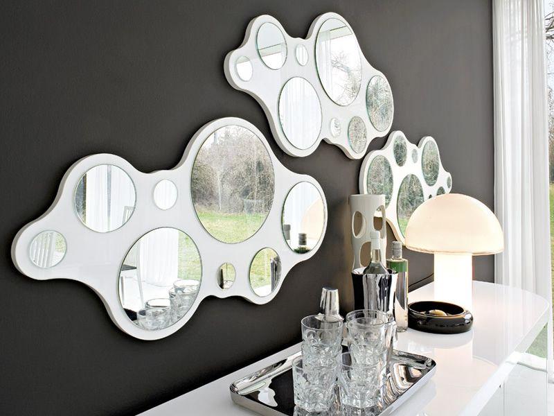 cb5029 bubbles moderner spiegel connubia calligaris verschiedene vorr tige farben sediarreda. Black Bedroom Furniture Sets. Home Design Ideas