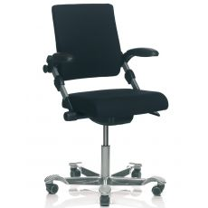 H03 ® R - Ergonomic office chair by HÅG, with or without armrests, several colours