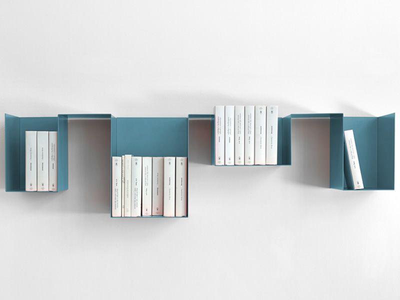 Librerie in metallo mini link kit da ripiani esempio di utilizzo