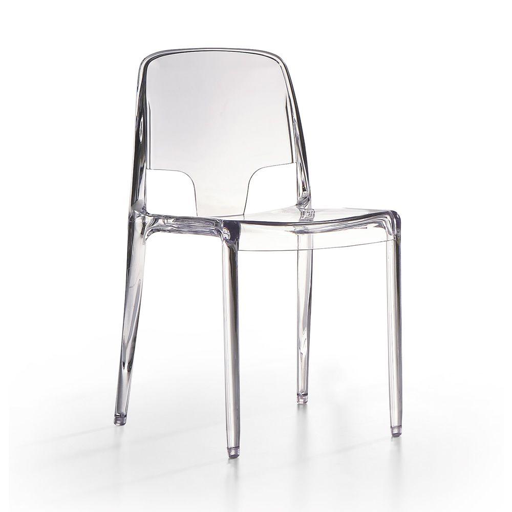 Margot silla infiniti de policarbonato apilable en - Sillas policarbonato transparente ...