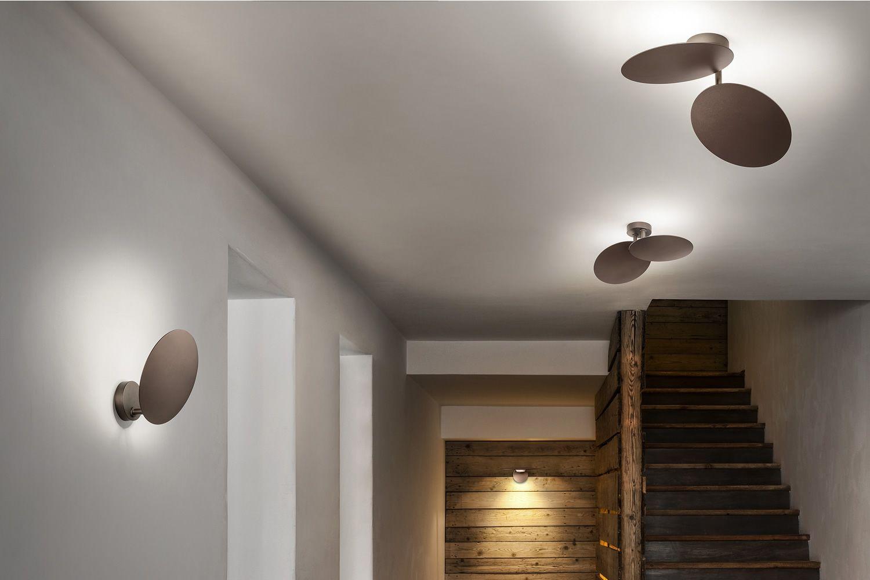 Puzzle round lampada a soffitto o parete di design for Flos illuminazione