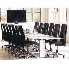 H09 ® Meeting Ex - Sedia ufficio ergonomica HÅG, con cuscino per il supporto lombare