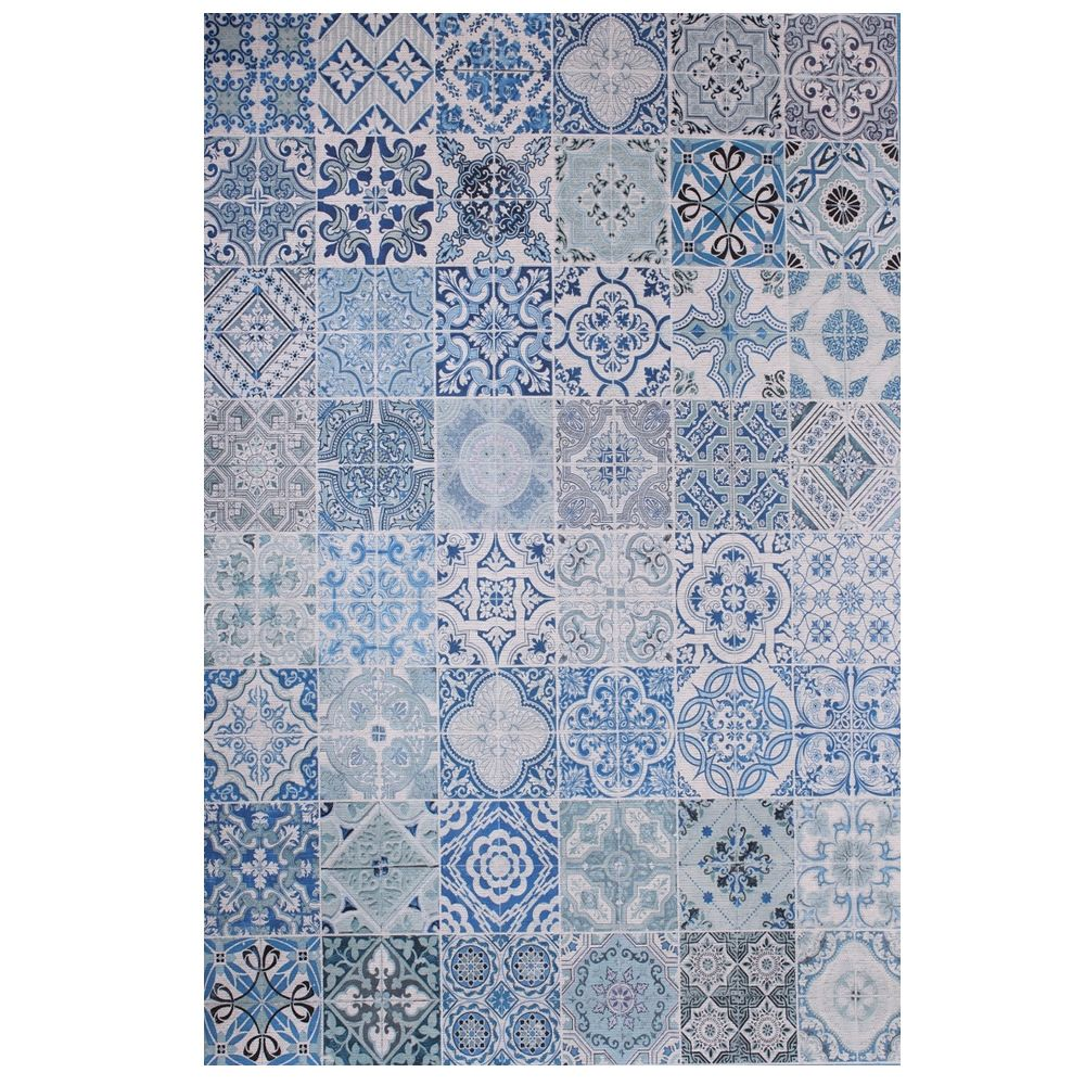 Sicily alfombra moderna de poli ster y algod n varias - Alfombras de poliester ...
