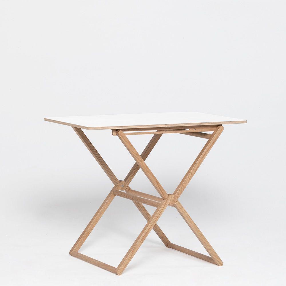 Treee bar table design pliante plateau 90x60 cm for Table pliante design