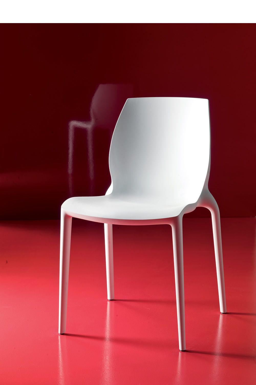 Hidra pour bars et restaurants chaise empilable pour for Chaise en plastique