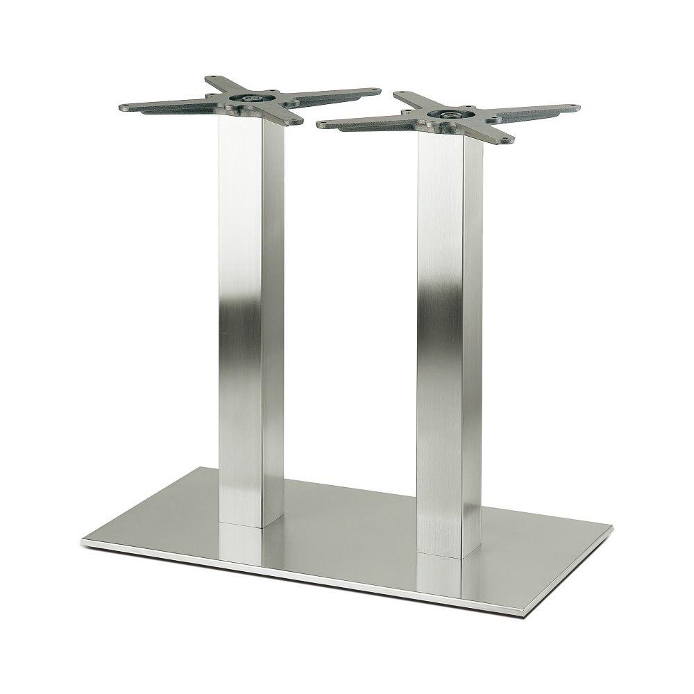 pe4462 pour bars et restaurants pi tement de table deux colonnes pour bar ou restaurant en. Black Bedroom Furniture Sets. Home Design Ideas