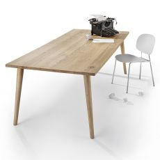 Next Table - Infiniti fixed table in oak wood, different sizes available