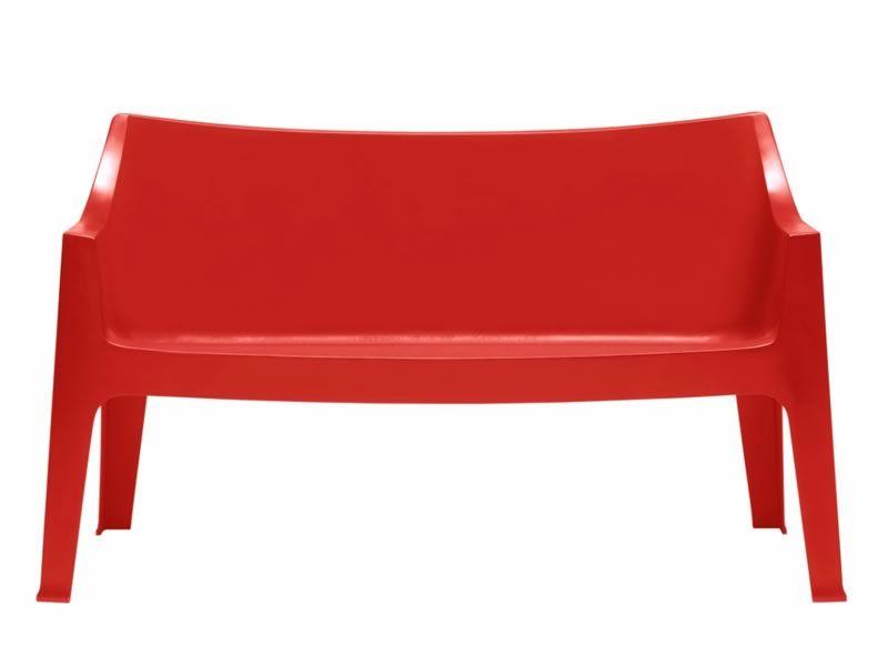 Coccolona 1253 per bar e ristoranti divano da bar in for Divano rosso abbinamenti
