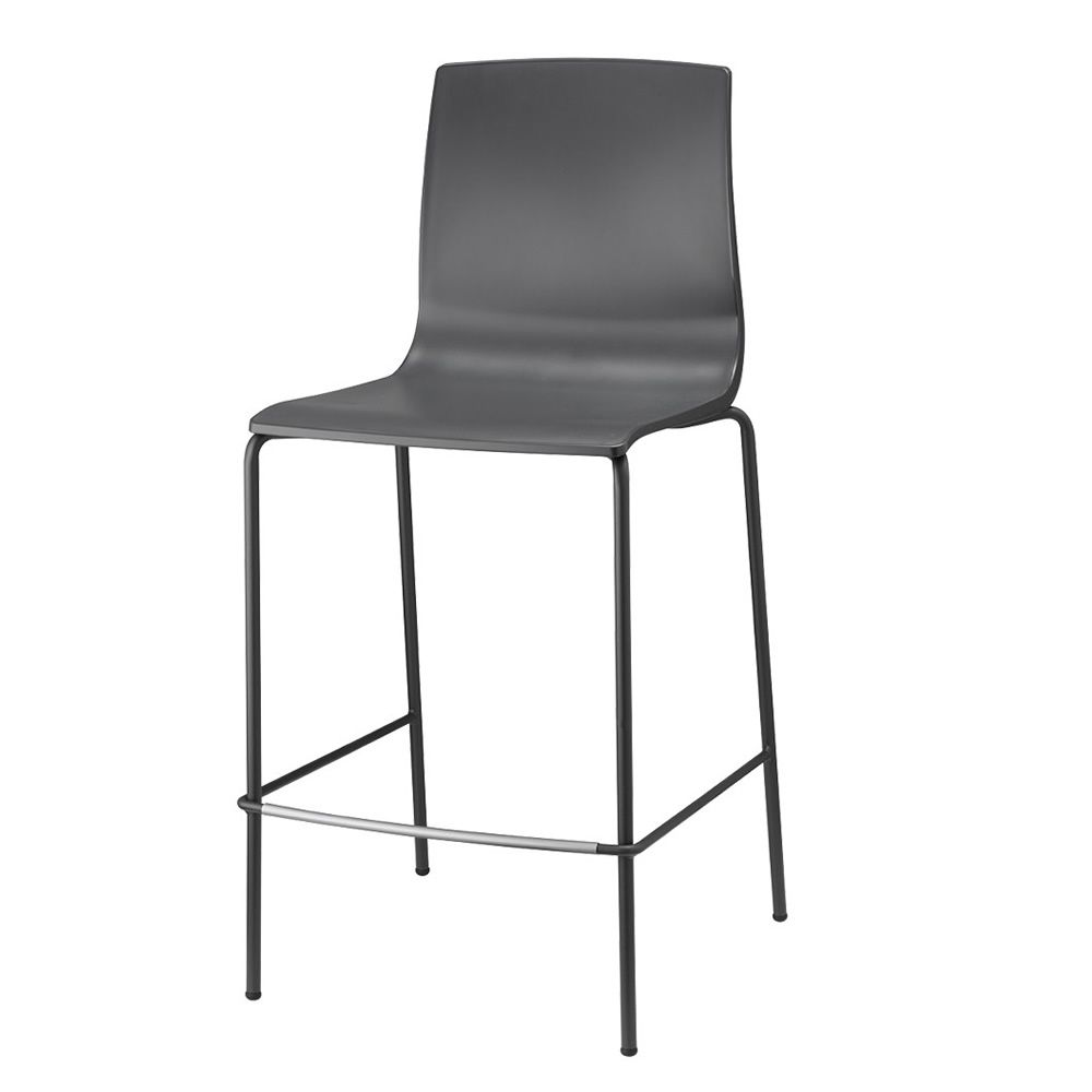 alice v 2575 tabouret en m tal et en technopolym re hauteur de l 39 assise 65 ou 80 cm empilable. Black Bedroom Furniture Sets. Home Design Ideas