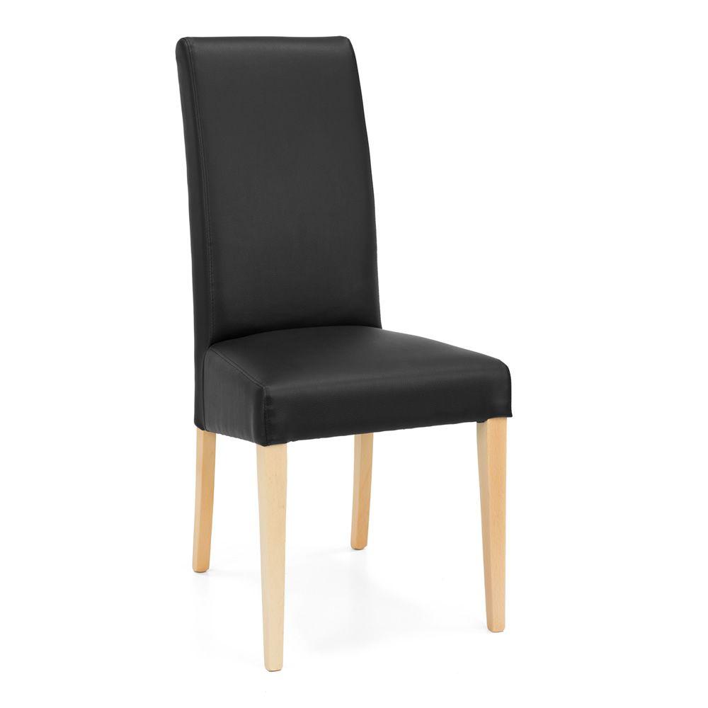 Mu24 pour bars et restaurants chaise moderne en bois for Chaise bois et simili cuir