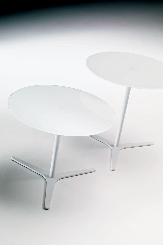 Elica tavolino di desing bontempi casa con struttura in for Creatore di piano casa personalizzato