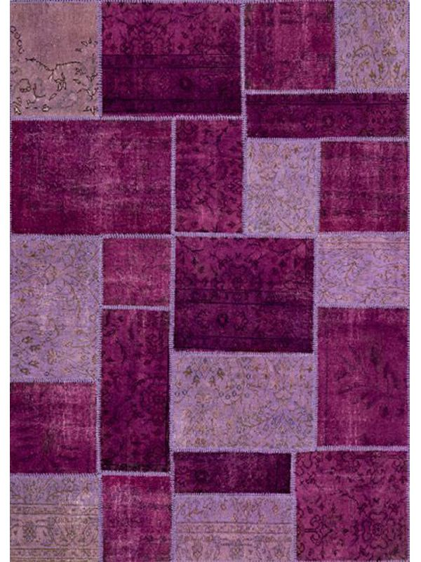 antalya violet tapis moderne violet en pure laine vierge - Tapis Moderne Violet