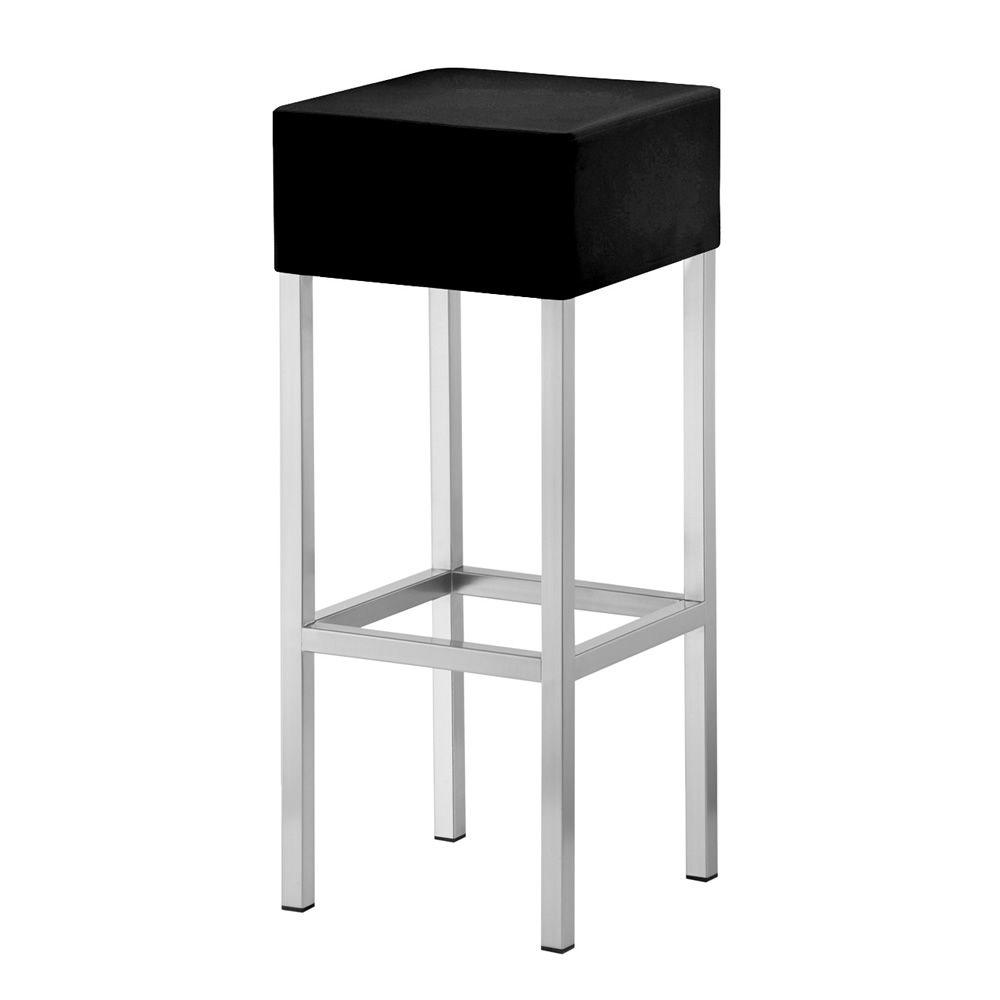 Cube 1400 per bar e ristoranti sgabello alto per bar in for Sedie struttura acciaio satinato