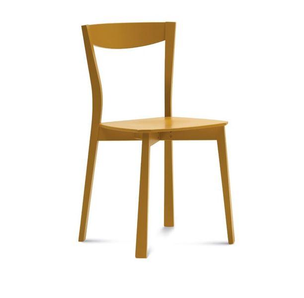 Chili silla domitalia de madera disponible en varios for Sillas madera colores