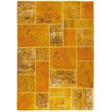 Antalya Yellow - Moderner Teppich aus reiner Schurwolle
