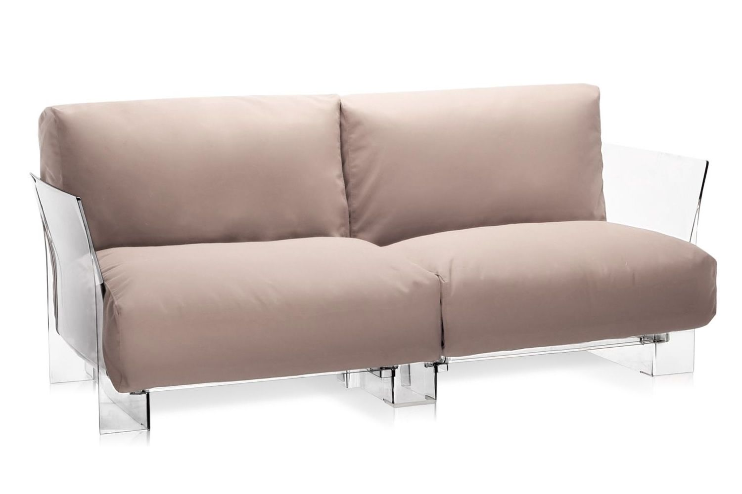Pop Outdoor Sofa - Divano di design Kartell, per esterno, 2 posti ...
