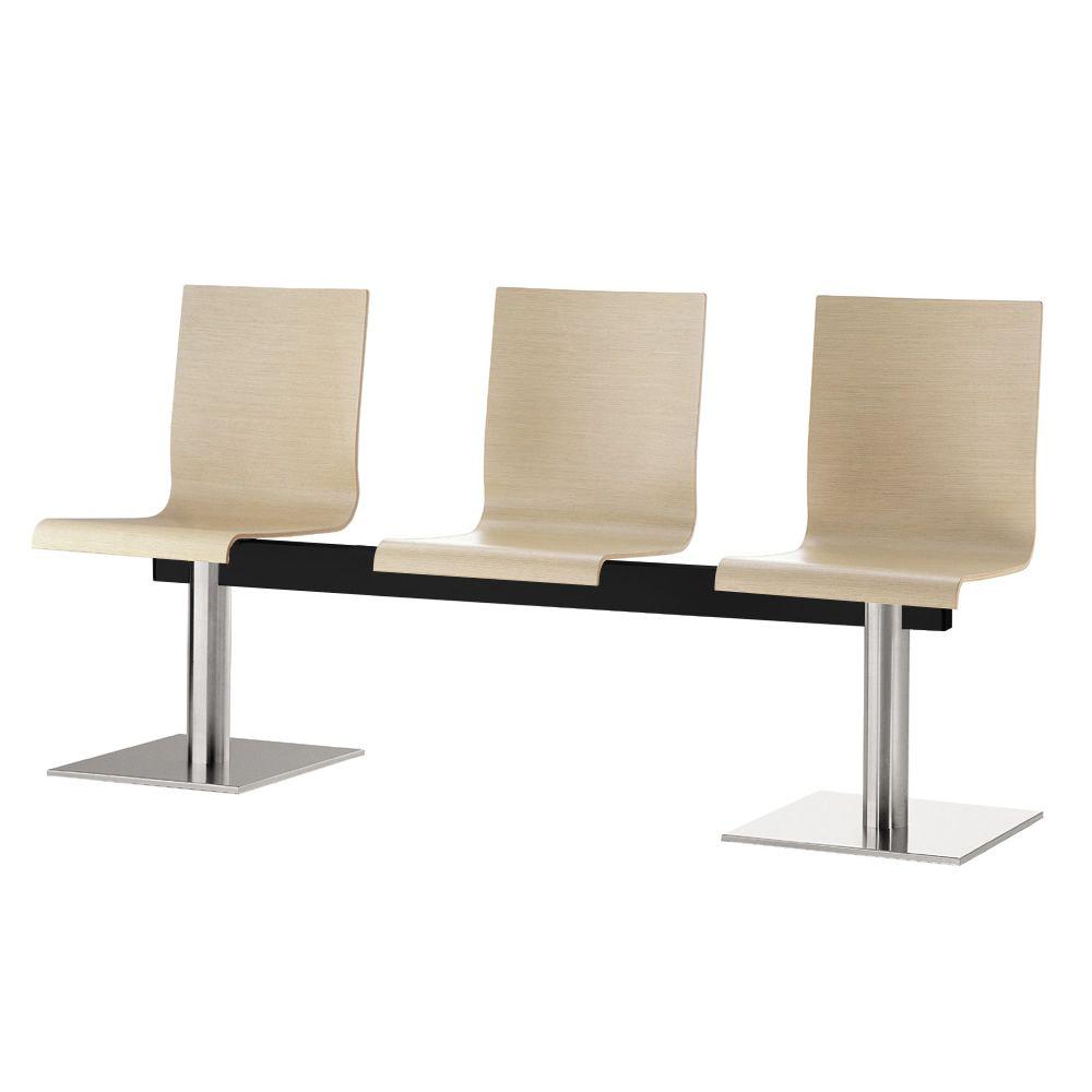 kuadra xl 2613 pour bars et restaurants banc pour la salle d 39 attente assises en ch ne ou. Black Bedroom Furniture Sets. Home Design Ideas