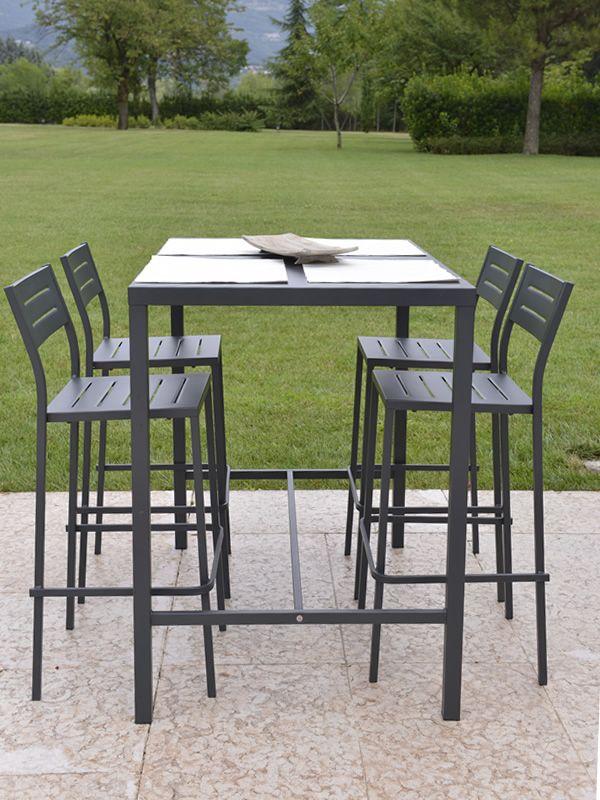 rig72th pour bars et restaurants table d 39 ext rieur haute en m tal disponible en diff rentes. Black Bedroom Furniture Sets. Home Design Ideas