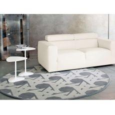 7102 Lienz - Calligaris round rug in wool, diameter 200 cm
