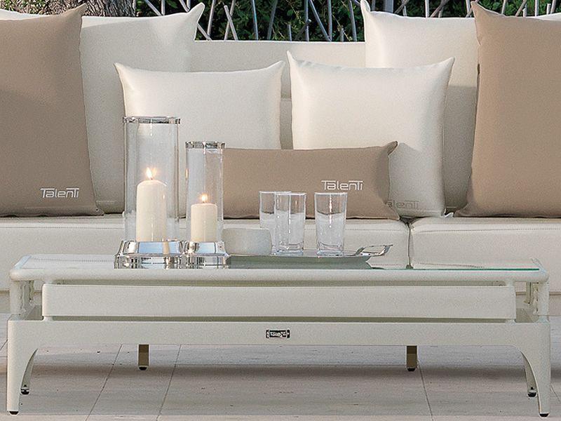 pad set wei er couchtisch mit glasplatte. Black Bedroom Furniture Sets. Home Design Ideas