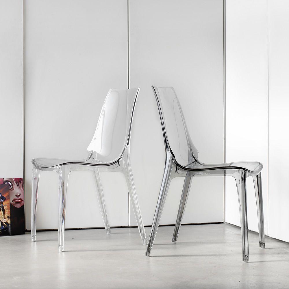 Chaise Vanity Design Par Scab: Chaise Design En Polycarbonate