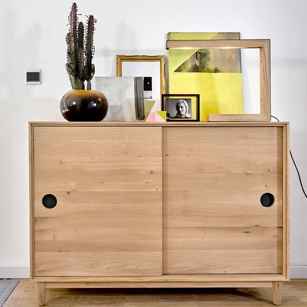 walrus anrichte universo positivo aus holz mit schiebet ren sediarreda. Black Bedroom Furniture Sets. Home Design Ideas