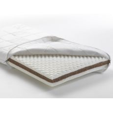 Biogreenfirst - Pali cot mattress in expanded polyurethane and rubberized coir, removable lining