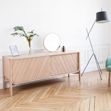 Marius - Sideboard in wood, with two doors, available in different dimensions