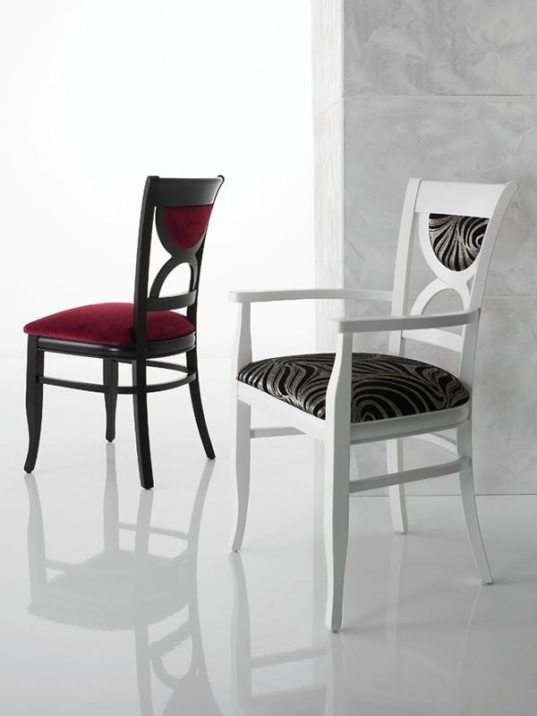 London sedia in legno seduta in ecopelle o microfibra for Sedia e maschile o femminile