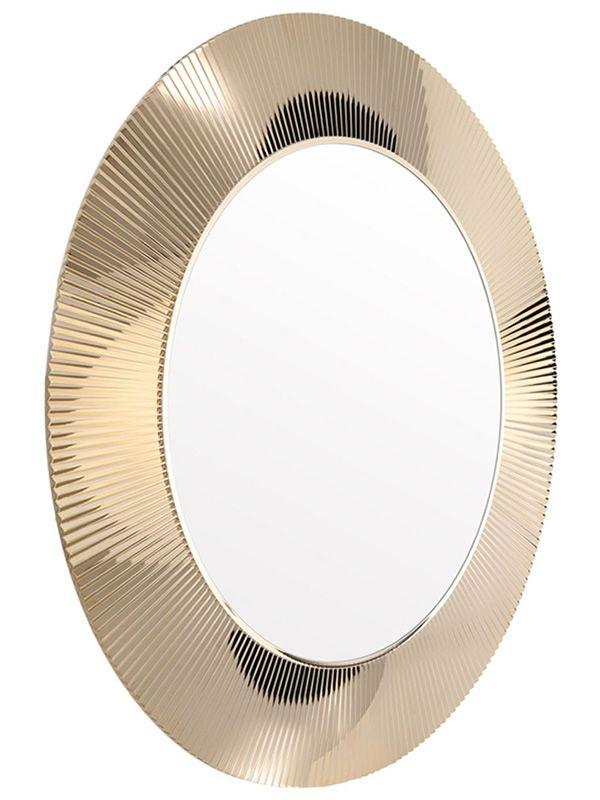 all saints miroir kartell de design avec cadre en polymer en diff rentes couleurs sediarreda. Black Bedroom Furniture Sets. Home Design Ideas